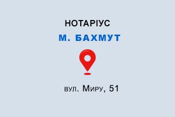 Бойко Яна Сергіївна Донецька обл., м. Бахмут, 84500, вул. Миру, 51