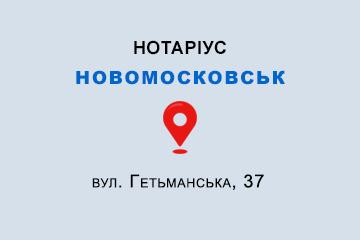 Лила Інна Армоніківна Дніпропетровська обл., м. Новомосковськ, 51200, вул. Гетьманська, 37