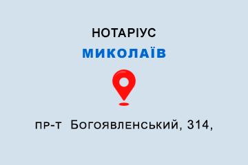 Моторний Максим Олександрович Миколаївська обл., м. Миколаїв, 54050, пр-т Богоявленський, 314
